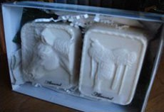 Gift Box of Two Goat's Milk Moisturizing Soaps
